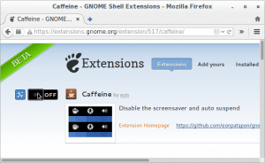 Web para instalar enlaces de gnome Shell