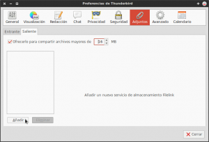 Configurando Filelink