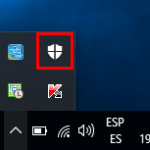 Quitar el icono de Windows Defender de la barra de tareas de Windows