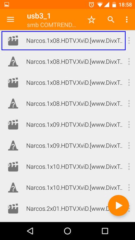Consumir contenido de nuestro servidor multimedia en Android