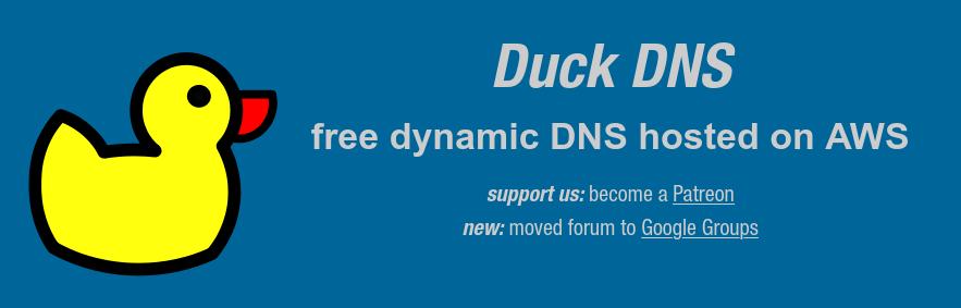 DDNS con Duck DNS y Docker